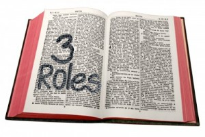 Three roles