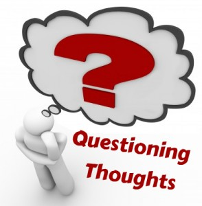 questioning thoughts