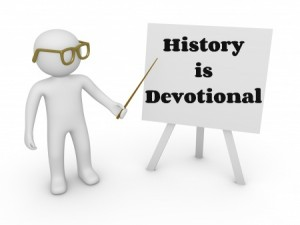 History is devotional