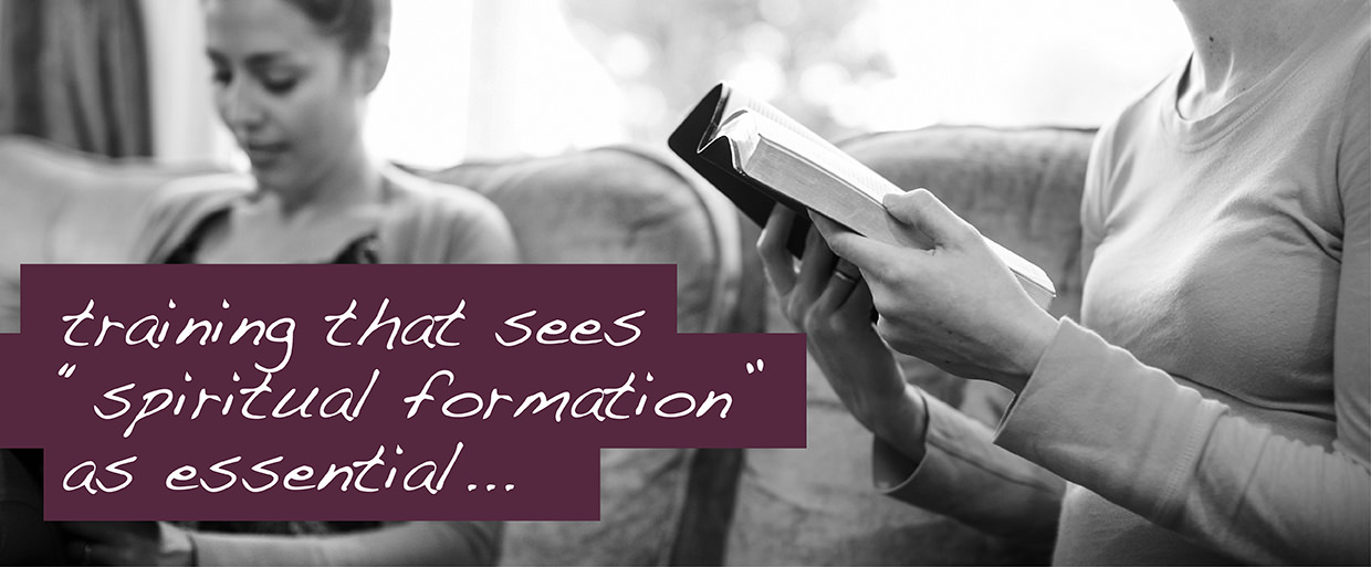 """training that see """"spiritual formation"""" as essential"""