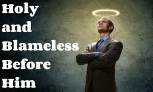 holy blameless